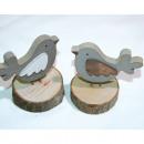 mayorista Jardin y Bricolage: Vogel 9,5x9x6cm de  madera en el disco de madera, 2