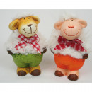 wholesale Dolls &Plush: Sheep standing  with cuddly fur sorted