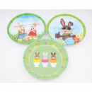wholesale Houshold & Kitchen: Melamine Easter Plate 21cm sorted,