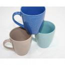 Kaffeebecher mit glänzender Oberfläche