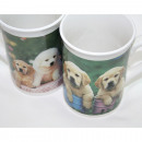 Coffee Mug with puppy design