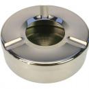 grossiste Cendriers: Acier inoxydable cendrier 11x3,5cm