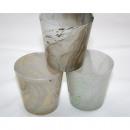 groothandel Glazen: Wind licht glas  conische Marble Ontwerp