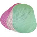 Tischset oval  weich 44x28,5cm tolle Farben