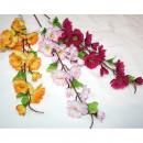 Großhandel Kunstblumen: Apfelblüte XL in 3 Farbkombinationen