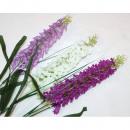 Großhandel Kunstblumen: Flieder XL 65cm, 3 Farben sortiert