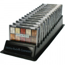 wholesale Drugstore & Beauty: Sorted eyeshadow Sabrina 10, 2-fold