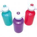 wholesale Children Dishes: Bottle 500ml  19,5x7,5cm great colors