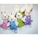 wholesale Dolls &Plush: Kuschelhase plush m colored dress