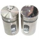 Spice shaker glas en roestvrij staal XL