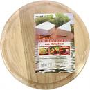 Großhandel Haushalt & Küche: Küche  Schneidebrett rund 23cm aus Holz