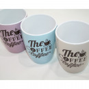 grossiste Tasses & Mugs: Mug  Le Café  de 340ml, 10,5 x 8cm,