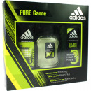 Adidas GP 3 He-Pack: Deo + Shower Gel + Eau de Toi