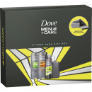 Großhandel Drogerie & Kosmetik: Dove GP Men  Duschbad + Deospray Clean
