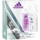 Adidas GP Mujeres Deo 150ml + 250ml Adipure ducha