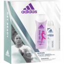 Adidas GP Femmes Deo 150ml + 250ml douche Adipure