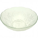 groothandel Servies: Kom Dessert Glass Rose ornamenten