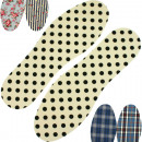 wholesale Fashion & Mode: Insole printed  36/37 - 44/45 , sort 5 prints.