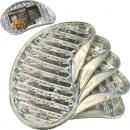 wholesale Garden & DIY store: Aluminum grill pan  5 Series  semi-circular ...