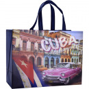 Großhandel Einkaufstaschen: Tasche  Einkaufstasche PP 40 x 41 x 17 cm