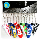 Keychains Football Boot sorted,