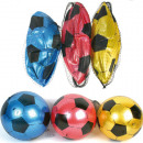Soccer 10cm  plastic assorted 3 colors