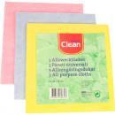 groothandel Reinigingsproducten: Doel doek CLEAN 38x38 cm Set van 3