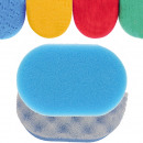 wholesale Wellness & Massage: Sponge massage  14x9x4,5cm 4 colors in Cello