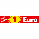 wholesale Displays & Advertising Signs:Sticker 1EURO 29x5,5cm