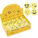 Smile Radiergummi 4er Set im Display, Trendartikel