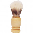 wholesale Shaving & Hair Removal: Shaving brush  wooden handle with golden ring 9 cm