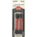 wholesale Shoe Accessories: Laces 75cm KIWI Black round