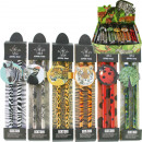 wholesale Gifts & Stationery: Pencils of 2  animal motifs 17 cm in the display