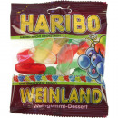 Food Haribo Wine Gums 100gr