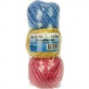 Package cord 3x50m PP 3 colors
