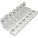 Pillen-/  Tablettenbox 14,5x3,5cm 7 Tage
