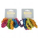 Gumy do włosów  Elina 6-Pack Assorted,