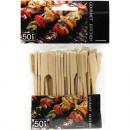 grossiste Coutellerie: Brochettes de 50  ans en bambou avec poignée extra