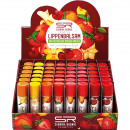 Lip balm with fruit flavor