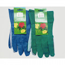 wholesale Garden & DIY store: Gardening Gloves Men green and blue