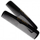 wholesale Haircare: Kammset of 2 black in a polybag
