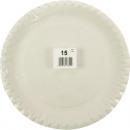 Parti assiette  15er 23 cm soudés blanc