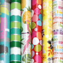 wholesale Gifts & Stationery: Gift paper roll 2m, general motives