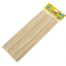 wholesale Houshold & Kitchen: Wooden skewers 80 Pack 25 cm long