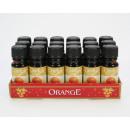 Duftöl 10ml Orange in Glasflasche