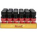 Rose 10ml fragrance oil in glass bottle