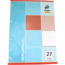 grossiste Cadeaux et papeterie: Bloc A4 de 50  feuilles lignées Décision 27