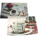 Großhandel Tischwäsche: Tischset 44x28,5cm Coffeellook