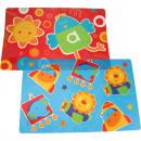 mayorista Casa y decoración: 44x28,5cm PP  Placemat para  niños de 2 veces ...