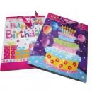 mayorista Regalos y papeleria: XL bolsa de  regalo, Happy Birthday,